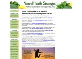 naturalhealthstrategies.com
