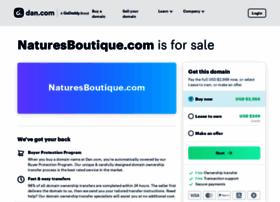 naturesboutique.com