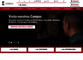 nebrija.com