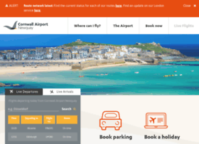 newquaycornwallairport.com