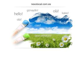 nexolocal.com.es