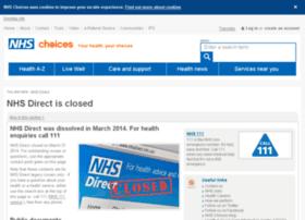 nhsdirect.nhs.uk