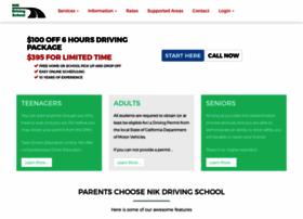 nikdrivingschool.com