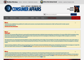 njconsumeraffairs.gov