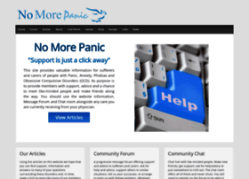 nomorepanic.co.uk