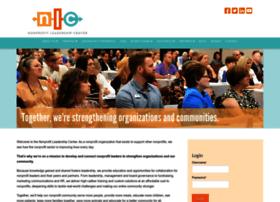 nonprofitleadershipcenter.com
