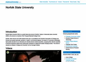 norfolk.stateuniversity.com