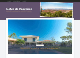 notes-de-provence.com