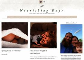 nourishingdays.com