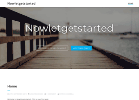 nowletsgetstarted.co.uk