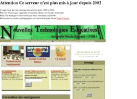 nte-serveur.univ-lyon1.fr