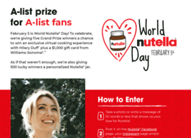 nutelladay.com