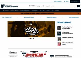 oaklandlibrary.org