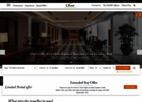 Oberoihotels.com