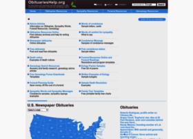 obituarieshelp.org
