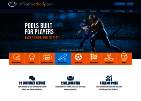 officefootballpool.com