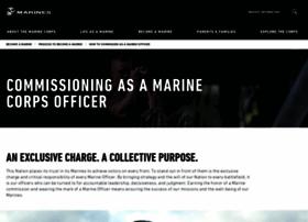 officer.marines.com