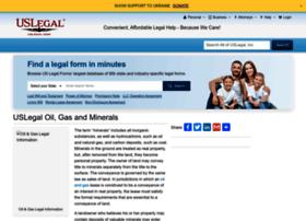 oilandgas.uslegal.com
