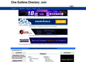 One-sublime-directory.com