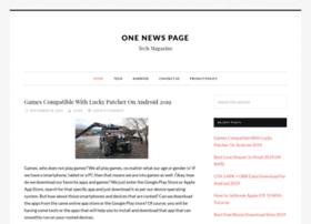 onenewspage.in