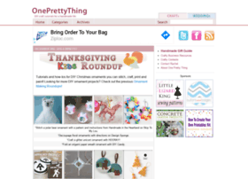 oneprettything.com