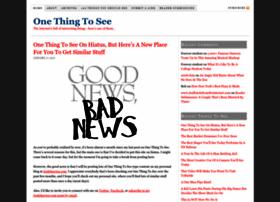 onethingtosee.com