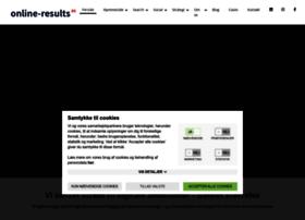 online-results.dk