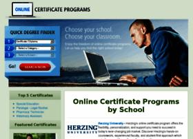 onlinecertificateprograms.org
