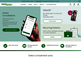 onlinedoctor.lloydspharmacy.com