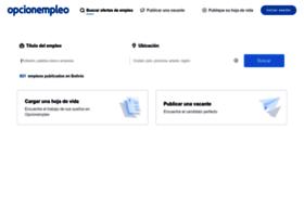 opcionempleo.com.bo