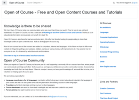 open-of-course.org