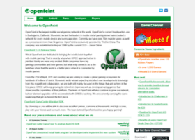 openfeint.com