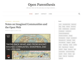 openparenthesis.org