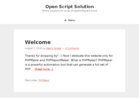 openscriptsolution.com