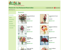 Opentable.flowerpetal.com