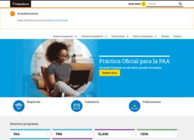 Oprla.collegeboard.com