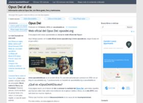 opusdeialdia.org