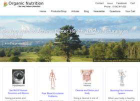 organicnutrition.co.uk