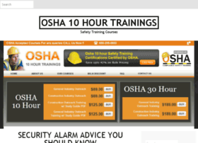 osha10hourtrainings.com
