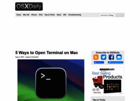 Osxdaily.com
