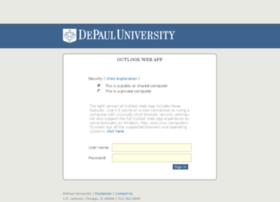 outlook.depaul.edu