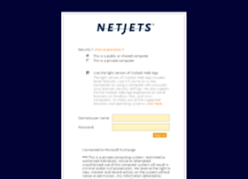 Owa.netjets.com