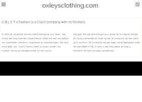 oxleysclothing.com