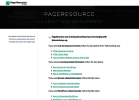 Pageresource.com