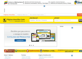 paginasamarillascantv.com.ve