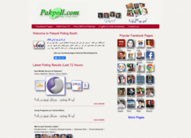 pakpoll.com