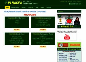 panaceabharti.com