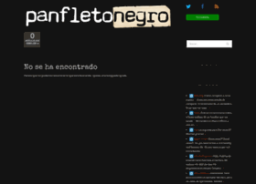 panfletonegro.com