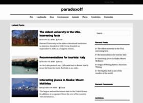 paradoxoff.com