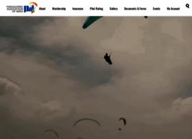 Paraglidingassociationofindia.org